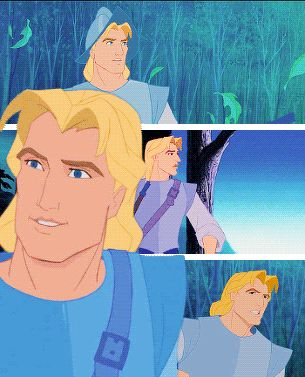 I love this fanart of John Smith!!!