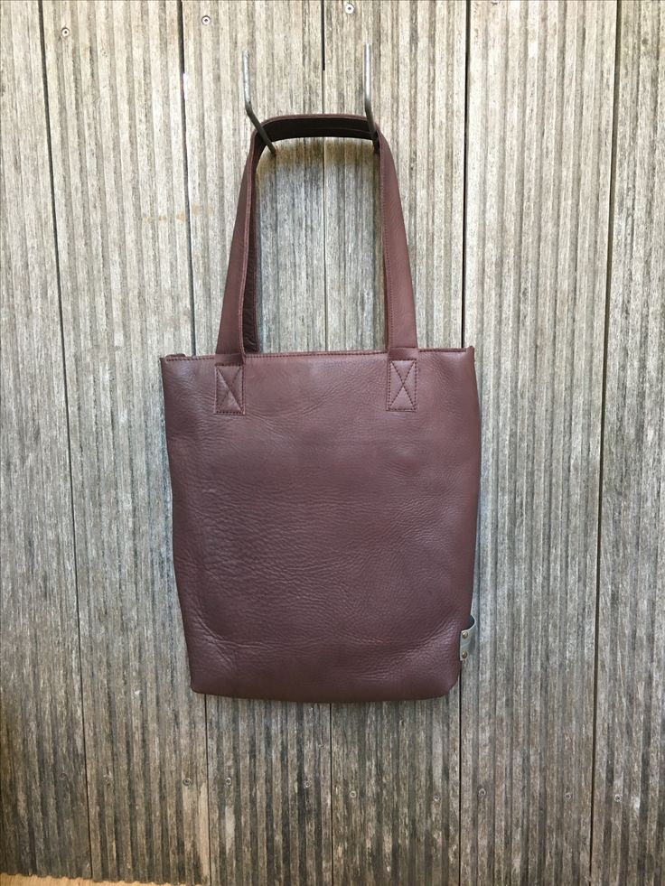 Brown leather bag | shoulder bag