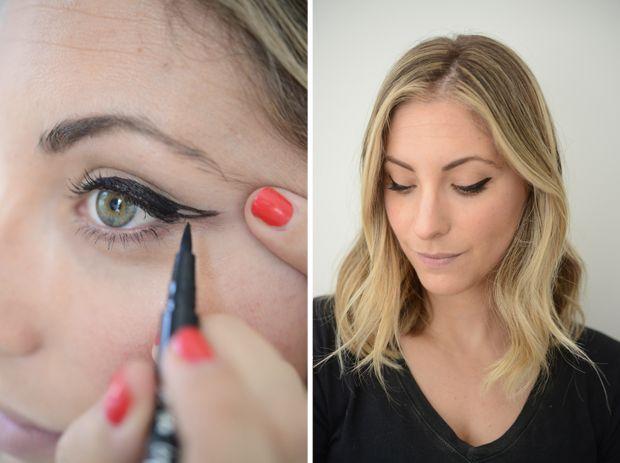 3 Everyday Eyeliner Shapes - Cupcakes & Cashmere
