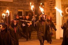 Druids at Samhain