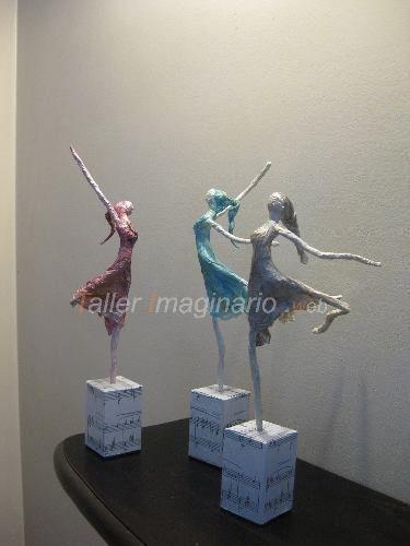 Realizzazione di ballerine di carta con tutorial - Il blog italiano sullo Shabby Chic e non solo