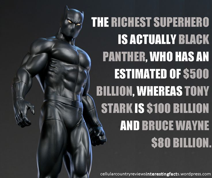 I though Tony Stark is the Richest Superhero, until ...