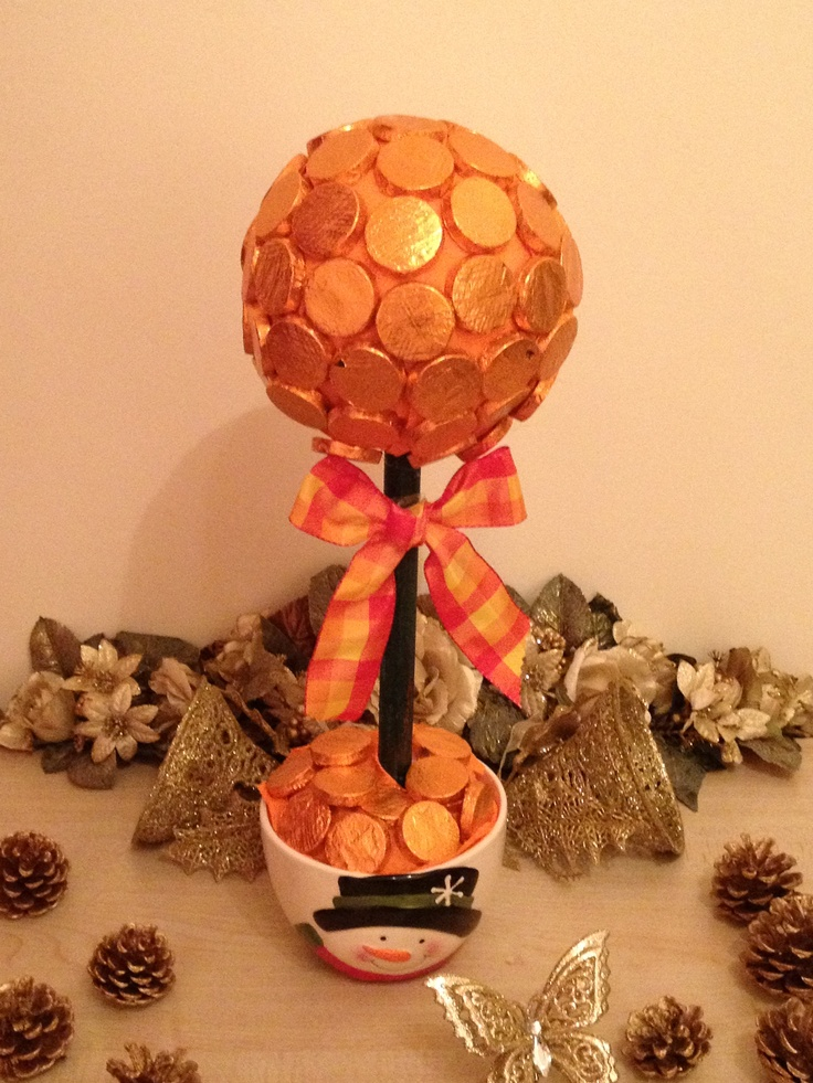 Orange Crisps After Dinner Chocolates...perfect centrepiece for a dinner