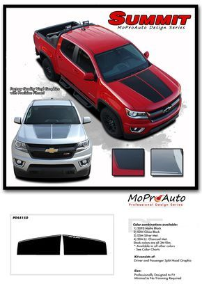 Best Chevy Colorado Vinyl Graphics Stripes Decal - Chevy decals for trucks