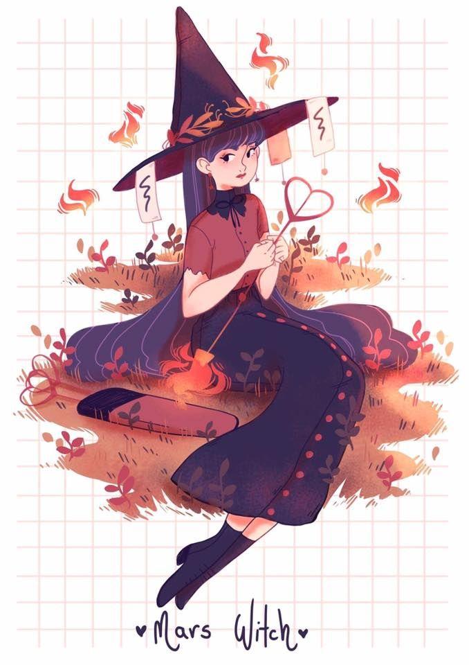 sailor marte bruxa