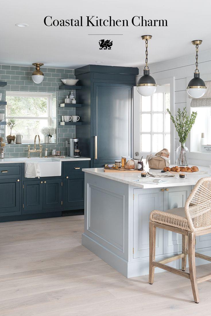 Refine Define Coastal Charm Beachy Kitchen Ideas Kitchen Design Beach House Kitchens Home Kitchens