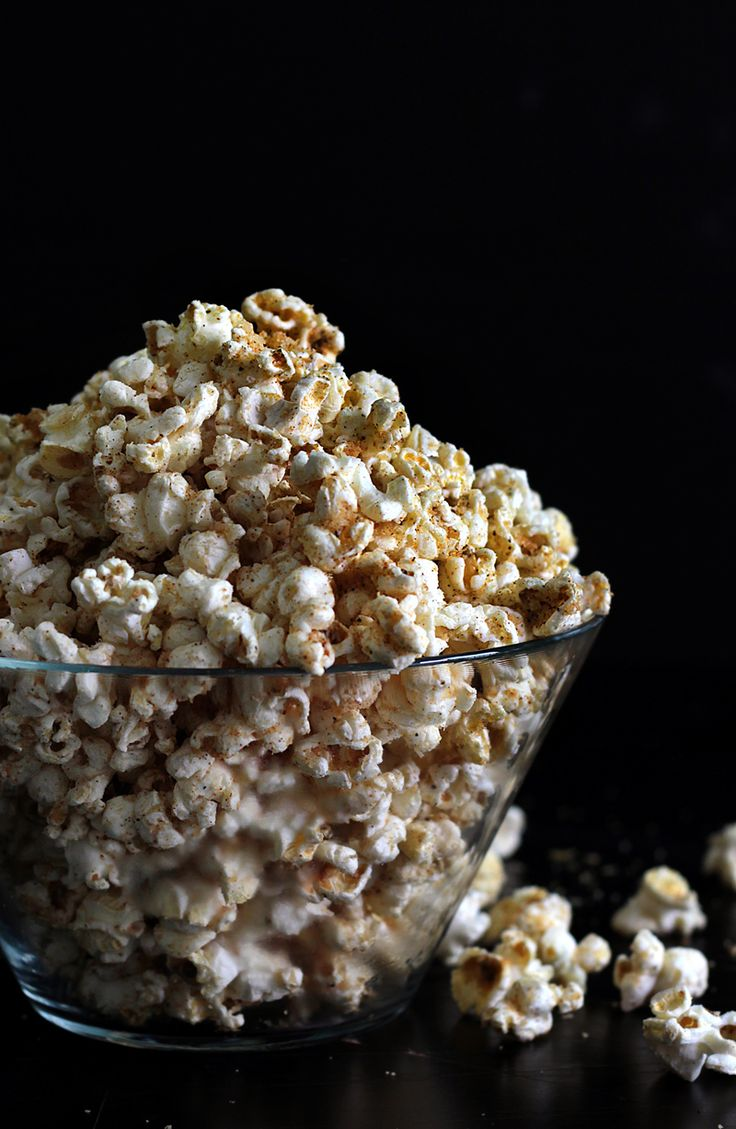 Cheesy popcorn is just the snack for binge-watching that guilty pleasure reality show.