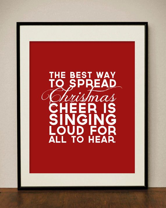 Singing Loud for All To Hear