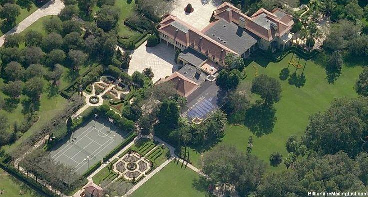 Mansion Of Billionaire Carol Jenkins Barnett In Lakeland