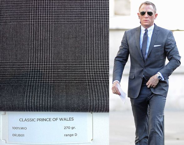 bbd7298d30 Daniel Craig in Tom Ford for James Bond 007 Skyfall. / #suit #sunglasses |  John Special Wayne | Prince of wales suit, James bond style y James bond