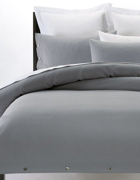 Vue | Waffle Bed Linen in Charcoal | Myer Online