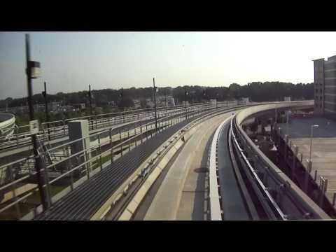 ▶ ATL SkyTrain at the Atlanta International Airport in Atlanta, GA - YouTube