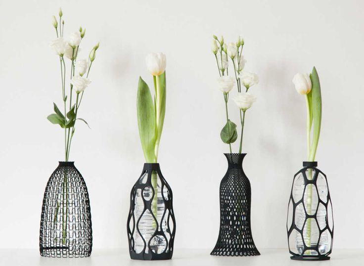 kleines 3d gedruckte vase bringt ein neues leben in die einwegflasche groß bild und adbfaabafad impression d flower vases