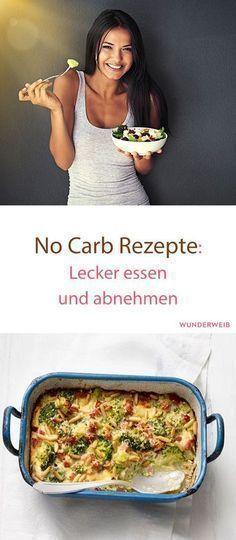 No Carb Rezepte