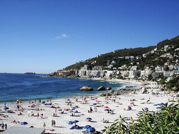 Clifton blue flag beach