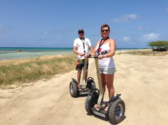 Segway Tours in Aruba (# 5 on TripAdvisor's list of Aruba Activities)