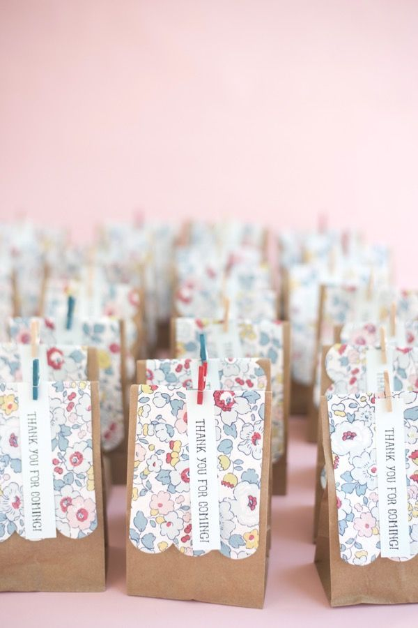 Liberty Favor Bags DIY | Oh Happy Day!