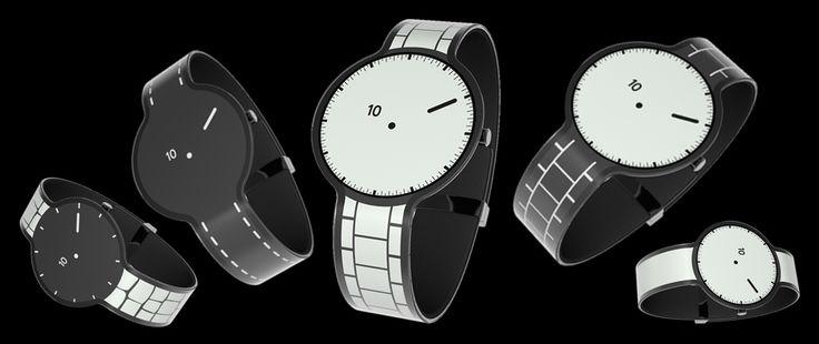 La FES Watch est une montre au design minimaliste entièrement recouverte d'un écran E Ink. Développée par Fashion Entertainment, une filiale créative de Sony, la FES Watch se présente avant tout comme un objet mode.