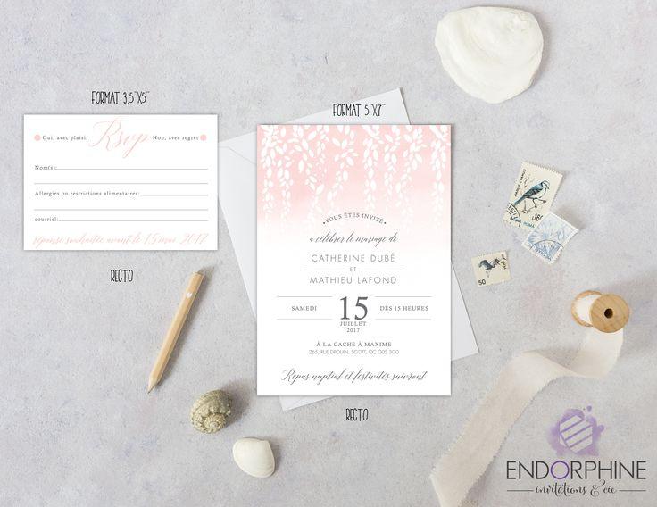 Invitation Endorphine, version imprimable