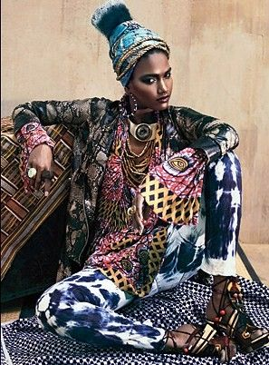 La Princessa World: African Print, Motifs, Tribal...Is the new Trend in High Fashion