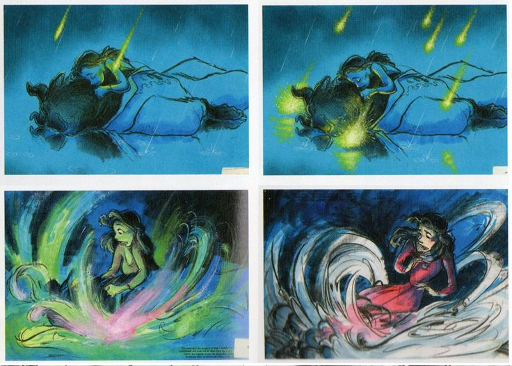 Beauty And The Beast Storyboard By Chris Sanders