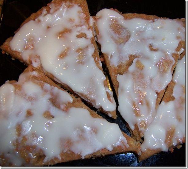 Carrot Cake Pizzert w/coconut butter