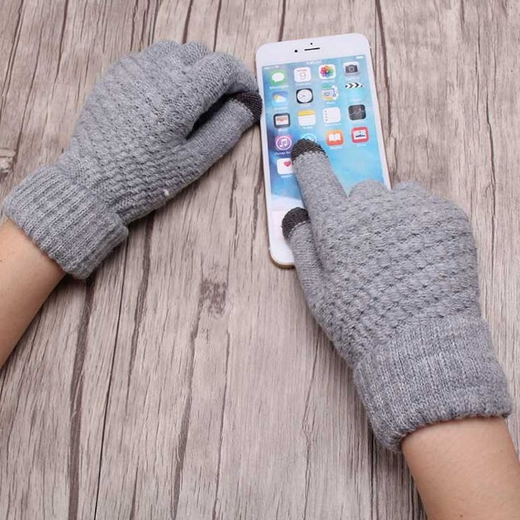 >> Click to Buy << Smartphone Touchable Screen Gloves Women Girl Female Stretch Knitted Gloves Mittens Winter Thick Warm Accessories Woolen Guantes #Affiliate