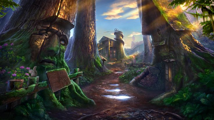 Enigmatis: The Mists of Ravenwood - Sunny Treehouse www.artifexmundi.com/page/enigmatis2 #redwood #park #entrance #game #adventure https://www.facebook.com/ArtifexMundi.Enigmatis