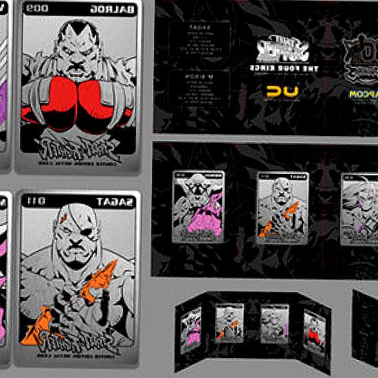 UDON Collectibles. Pre-order your UDON Collectibles merchise for pick up at SDCC 2017!. Street Fighter 30th Anniversary Limited Edition Metal Card Sets - The Four. The Four Kings Metal Card Set features br new art by ULTRA STREET FIGHTER II artist Long Vo. Preorder between July 11th-17th, 2017. Street Fighter  Monster Hunter exclusives at SDCC 2017. don t have to wait in line for hours to get a chance at securing UDON s exclusives. Ken in gold,  The Four Kings (Sagat, Vega, Balrog  M. Bison)…