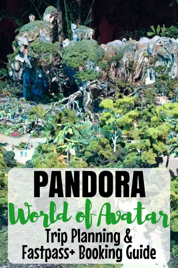Visiting Pandora World of Avatar at Walt Disney World? Get an early look at this new land in Disney Animal Kingdom, with tips on being the very first to book your Fastpass+ reservations!
