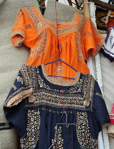 Mexican Blouses Oaxaca by Teyacapan, via Flickr
