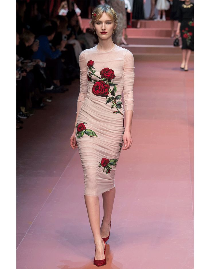 Image result for dolce and gabbana stretch dress