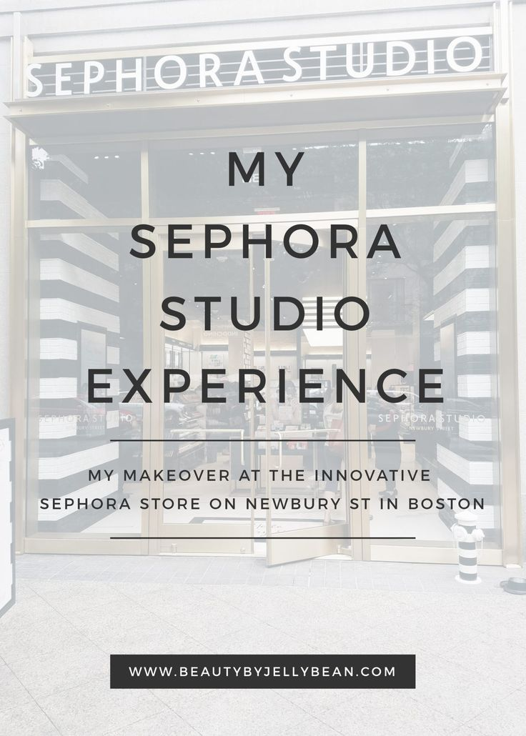 Sephora has a new type of store for a curated shopping experience. I visited the first Sephora Studio, on Newbury St in Boston, for a makeover.
