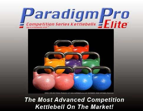 Paradigm Pro® Elite Precision Steel Inner Core Technology Competition Kettlebells by Kettlebells USA®.  The OFFICIAL Kettlebell of The IKFF & Steve Cotter!   Don't be fooled by cheap copies. Kettlebells USA® only manufacturers the highest quality kettlebells for professional use.  #kettlebell #kettlebells #fitness #russiankettlebells #girya #kettlebelldeals #crossfit #crossfitgear #crossfitgames #strength #giryasport #kettlebellsport #paradigmshift