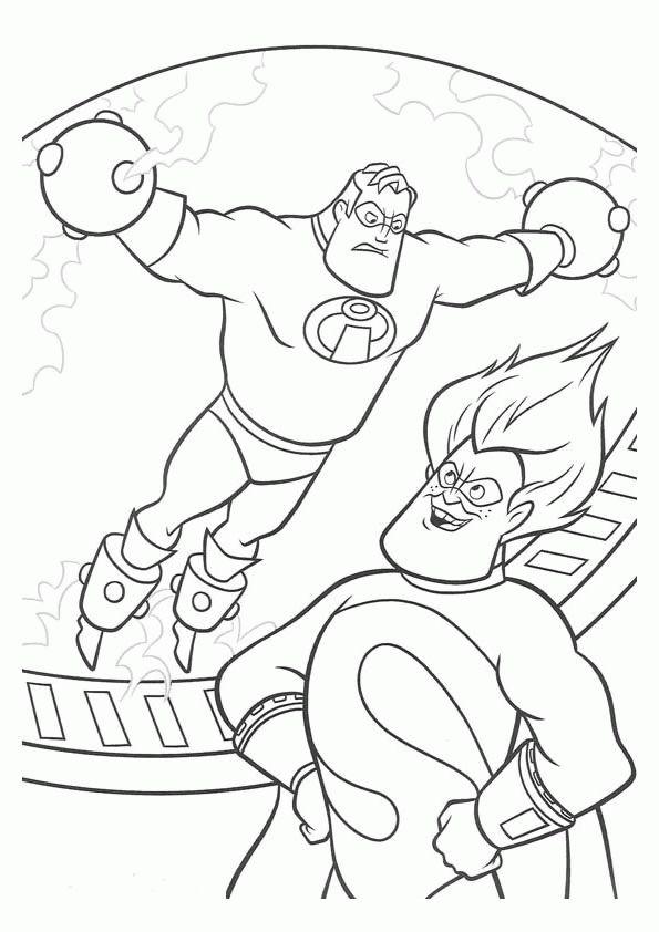 Los Increibles 4 Dibujos Faciles Para Dibujar Para Ninos Colorear Disney Coloring Pages Cartoon Coloring Pages Super Coloring Pages