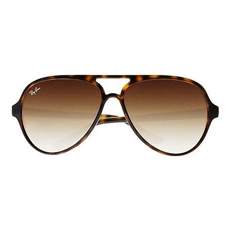 john lewis mens ray ban sunglasses  buy ray ban rb4125 cat aviator sunglasses online at johnlewis