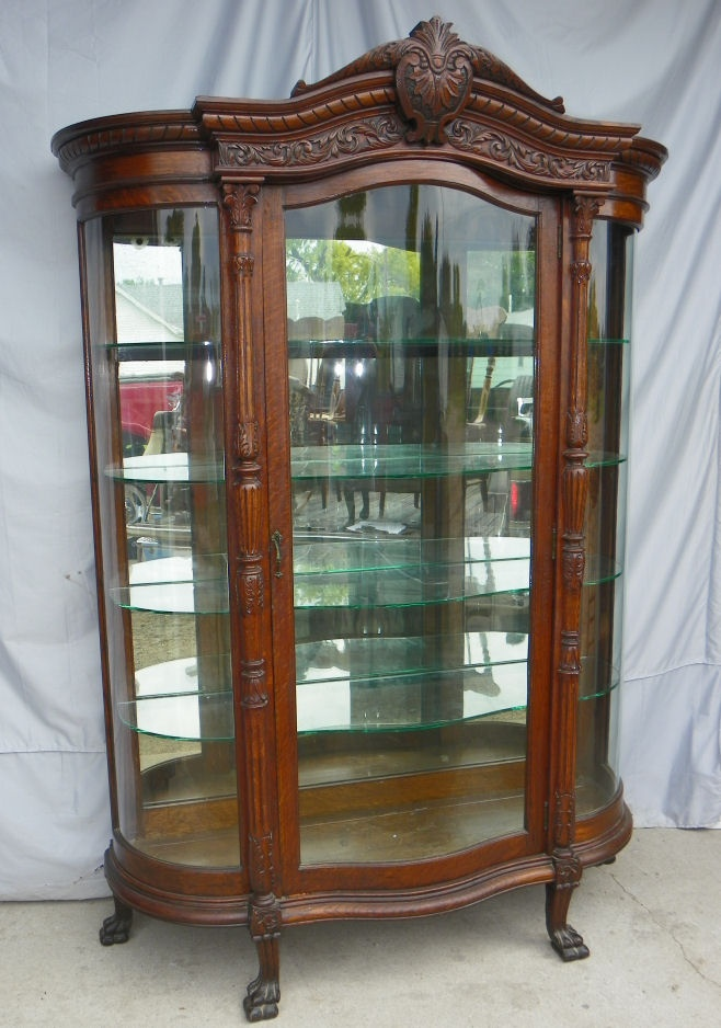 Oak China Cabinet - 234 Best Vintage Or Antique Curios- China- Display Cabinets Images