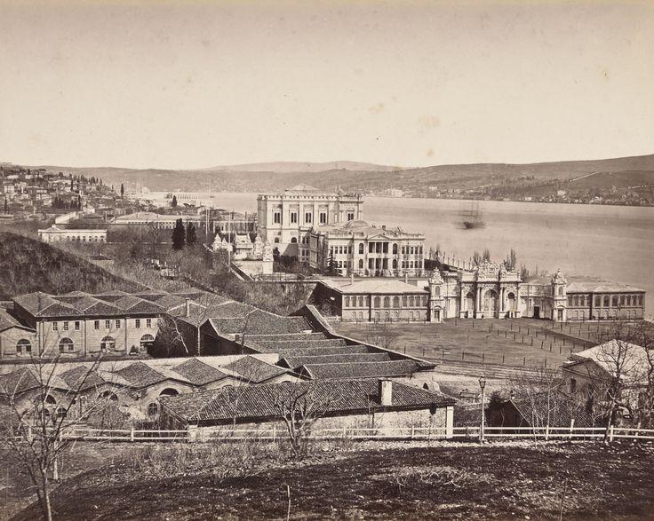Dolmabahçe Has Ahırları Abdullah Fréres / 1865
