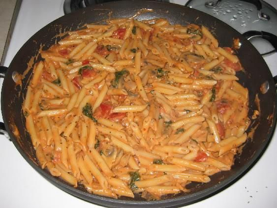 Pasta in tomato sauce recipes vegetarian