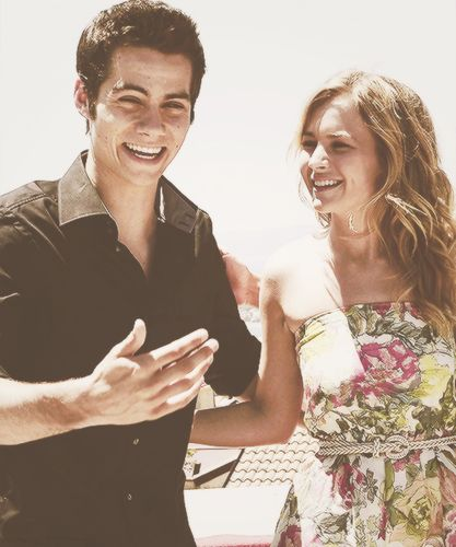 Dylan O'Brien and Britt Robertson - They're such cuties