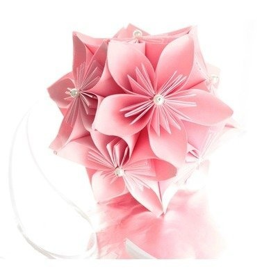 Kusudama Ball Hanging Japanese Origami: that flower that everyone uses in their wedding
