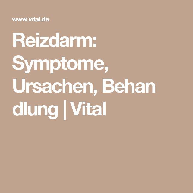Reizdarm: Symptome, Ursachen, Behan dlung   Vital