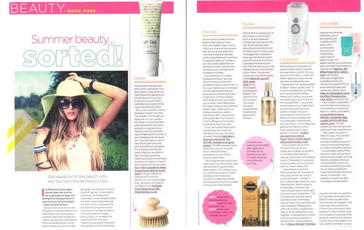 Women's Fitness magazine is full of amazing tips and Fake Bake Airbrush is their pick for a golden glow!