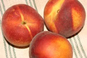 English Muffin Peach Crisp Recipe
