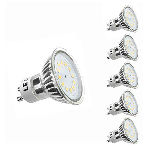 Good LE er GU LED Lampen ersetzt W Halogenlampen MR W lm Warmwei K
