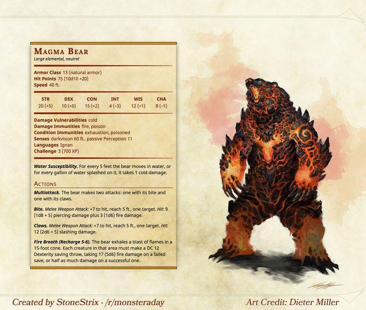 Magma Bear - Imgur