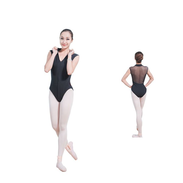 Find More Ballet Information about Fashionable leotard for women ballet leotards with front zipper, back mesh materials 5 pcs /lot,High Quality leotard adult,China leotard dress Suppliers, Cheap leotard from Dance Favourite on Aliexpress.com
