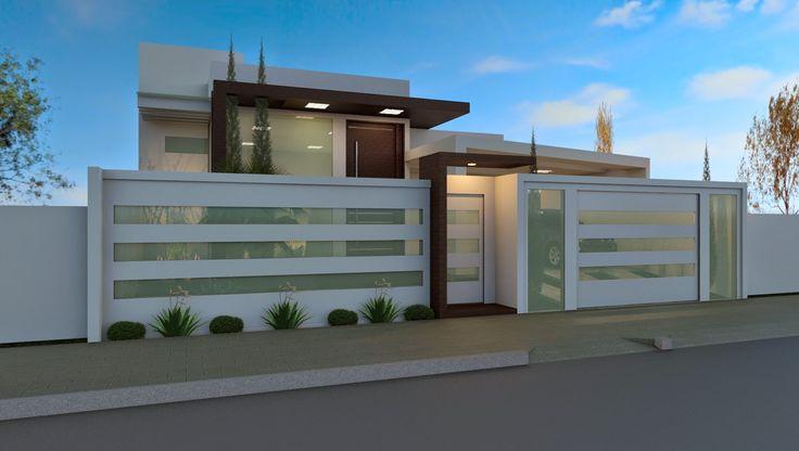 Muros de Vidro - veja 20 fachadas de casas com essa tendência! - Decor Salteado - Blog de Decoração e Arquitetura