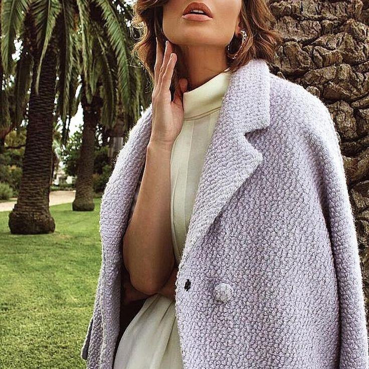 Elliatt - Palm Coat In Beautiful Lilac