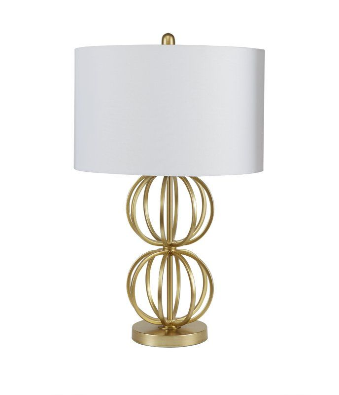 Mercer41 Eaman Stacked Orb 27 25 Table Lamp Reviews Wayfair Lamp Table Lamp Gold Table Lamp